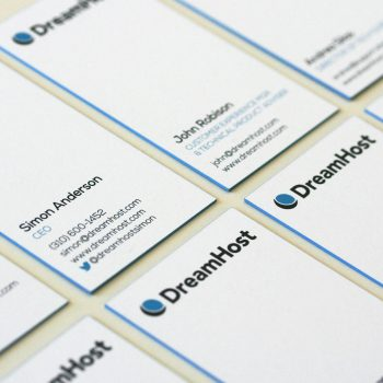 color edge business cards by reachmiami - Colored Edge Business Cards
